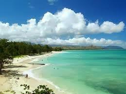 Pantai Lanikai, Hawaii
