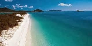 Pantai Whitehaven, Australia