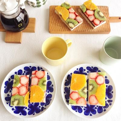 Yuk Bikin Fruits Open Sandwich Sendiri!