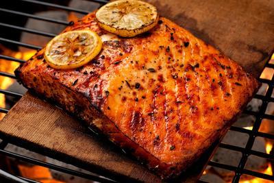 2. Cedar Plank Salmon, Washington