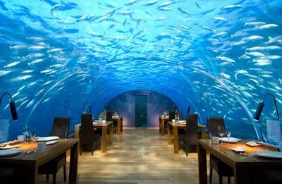 1. Ithaa Restaurant