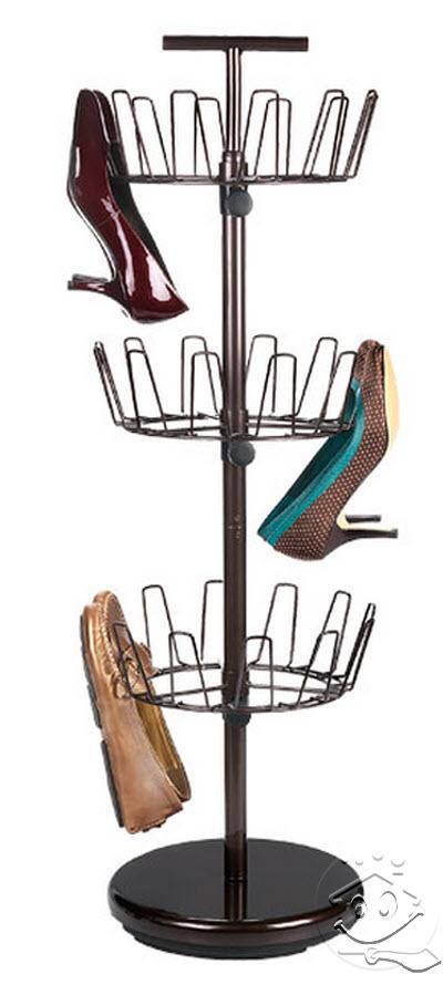 Intip Koleksi Rak Sepatu Unik