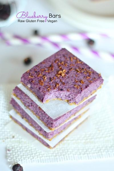 2. Bueberry Bars Free Gluten