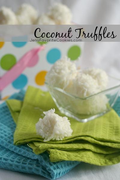 4. Coconut Truffles