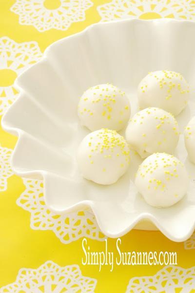 2. Lemon Cake Batter Truffles