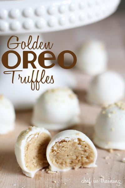 4. Golden Oreo Truffles
