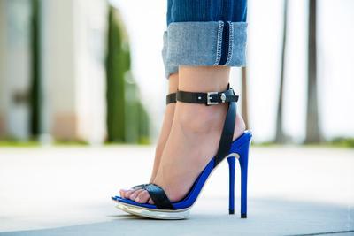 Mix N Match Strappy Heels