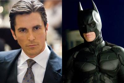 1. Christian Bale, Batman