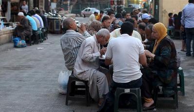 Jalanan Kota Kairo, Mesir