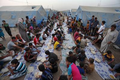 Kamp Pengungsian Irak Utara