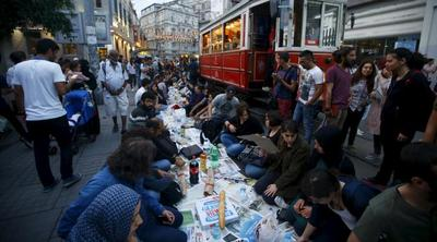Taksim Square, Istambul, Turki