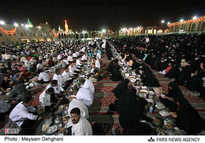 Suasana Maghrib di Mashad, Iran