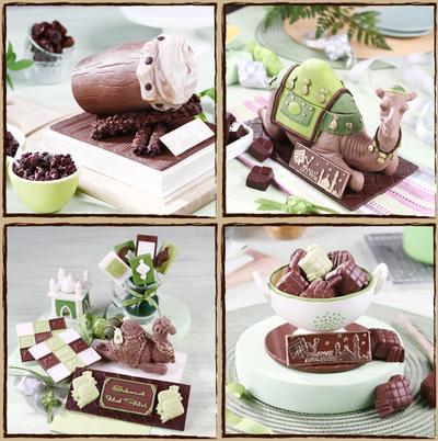 Parcel Cokelat Aneka Bentuk