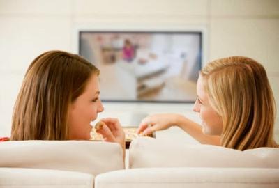 Jangan Makan di Depan TV
