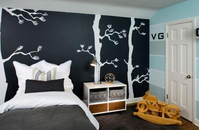 Contoh Interior yang Menggunakan Chalkboard Paint