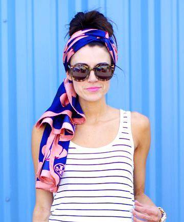 Tampil Gaya Dengan Headscarf yang Menawan