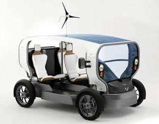 Eclectic: Kendaraan Energy-Autonomous