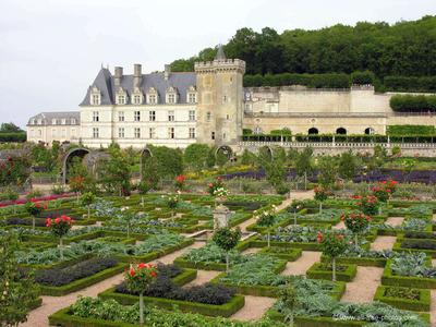 Chateau et jardins de Villandry, Perancis