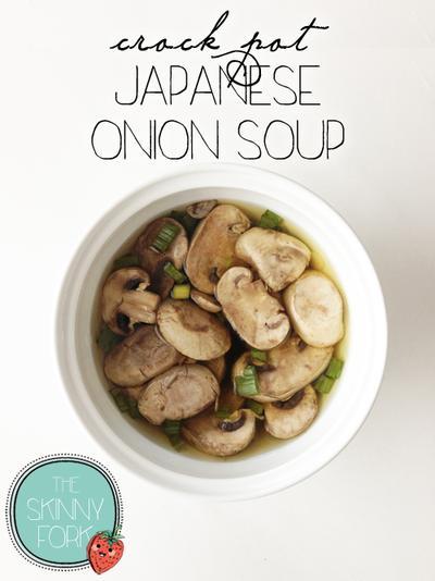 Crock Pot Japanese Onion Soup