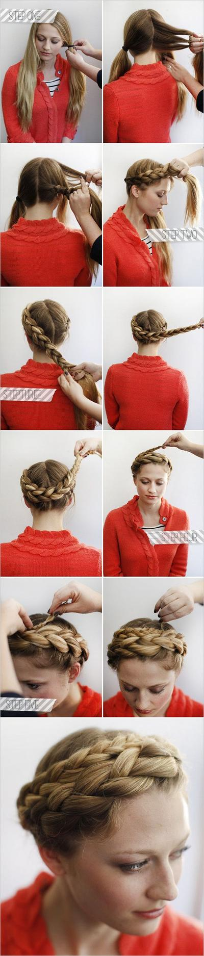 Classic Crown Braided Style