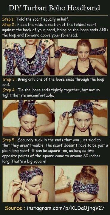 Boho Style Headscarf