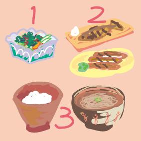 1. Pola Makan yang Tidak Meningkatkan Kadar Gula Darah