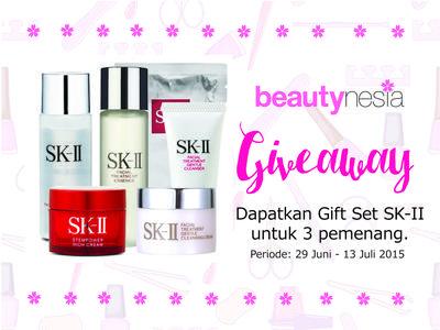 Beautynesia Giveaway: SK-II Gift Set