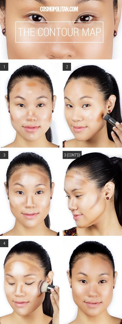 Step by Step Highlighting and Contouring