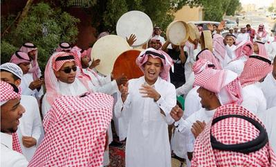 Tradisi di Arab Saudi