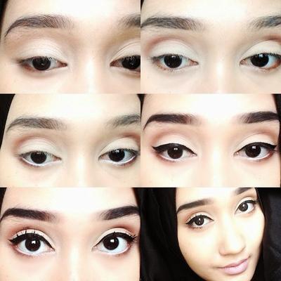 Nude Eyeshadow yang Memberi Kesan Dolly Look
