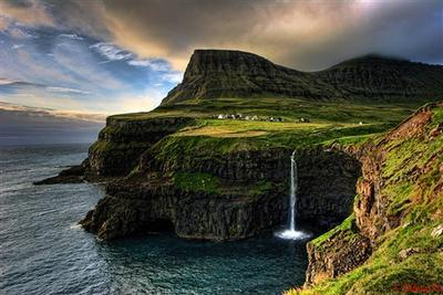 Gasadalur, Faroe Island, Denmark