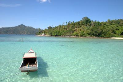 Wisata Pantai Pulau Anambas - Pantai Kusik