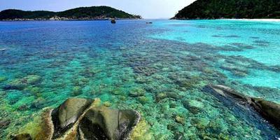 Wisata Pantai Pulau Anambas - Pantai Selat Ransang