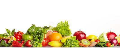 Terdapat Sayuran dan Buah