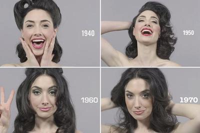 100 Years of Beauty: Video Perkembangan Tren Kecantikan Dalam 1 Menit