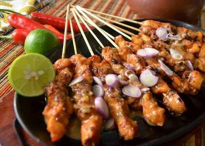 1. Sate Ayam