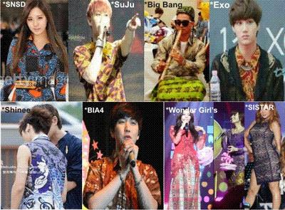 Idol K-Pop Tampil Stylish Dengan Batik