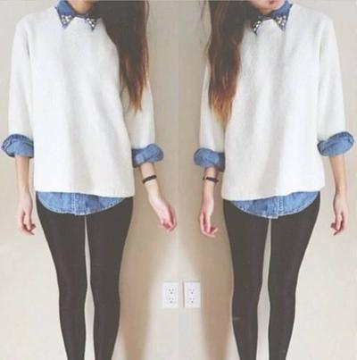 5. Padukan Bersama Sweater