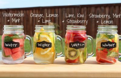 4. Infused Water