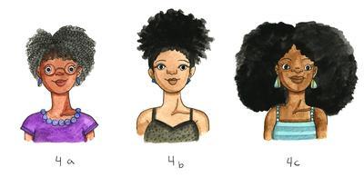 Rambut Kribo atau Afro