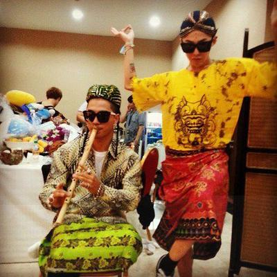 2. G-Dragon dan Taeyang Big Bang