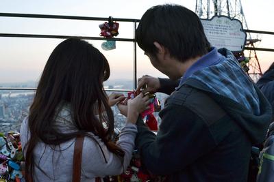 5. Love Locks Namsan Tower