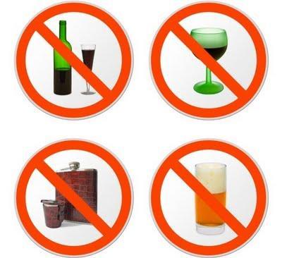 Hindari Rokok & Alkohol