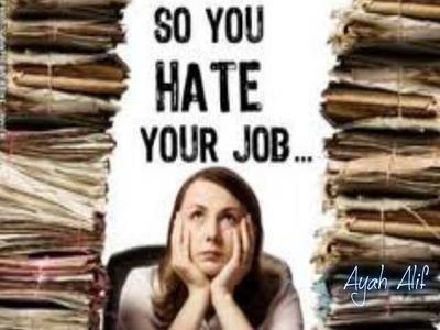 Merasa Pekerjaan Tidak Menantang Sama Sekali