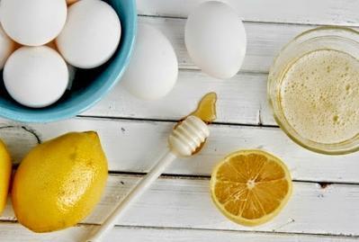 6. Jeruk Nipis & Putih Telur
