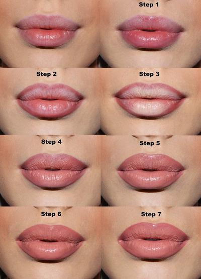 1. Gunakan Lip Liner untuk Menambah Volume Bibir