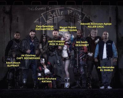 Karakter Suicide Squad