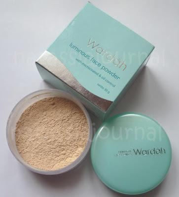 Wardah Luminous Face Powder (Rp31.000)
