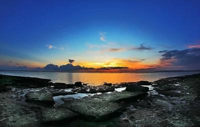 Keindahan Pantai Air Cina di Kupang, NTT yang Tersembunyi