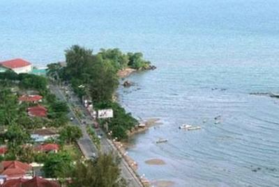 Lokasi Pantai Melawai